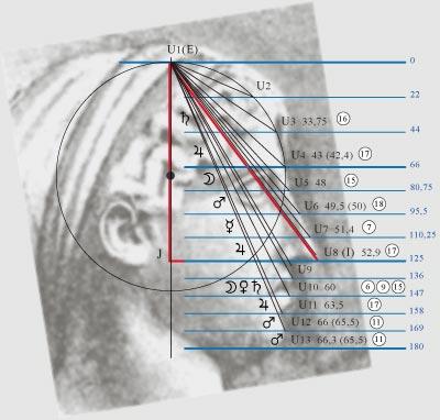 На схеме для примера показан